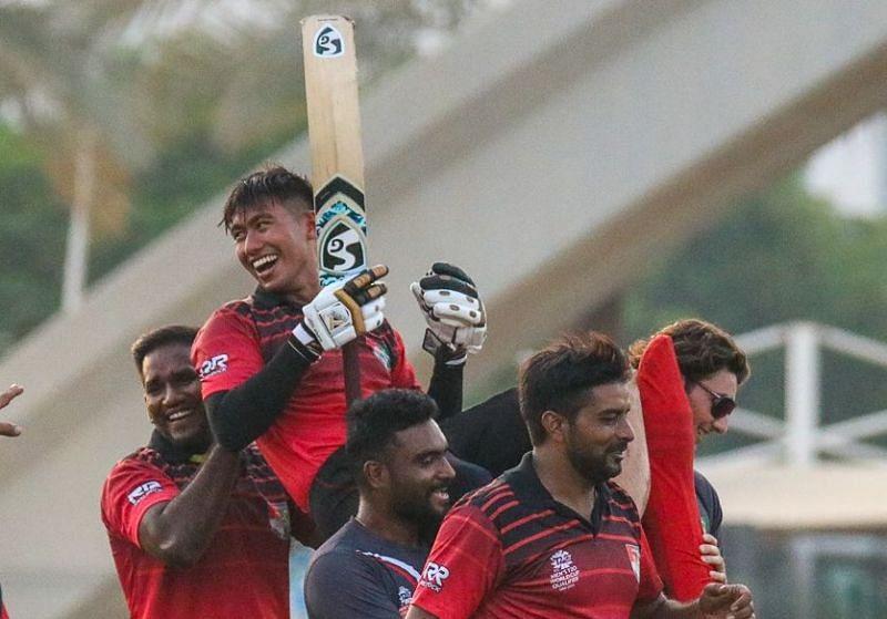 सिंगापुर की लगातार दूसरी रोमांचक जीत (Photo: Cricinfo)