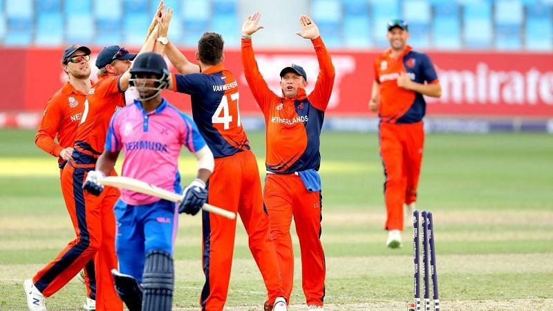 नीदरलैंड्स ने पहली बार टी20 अंतरराष्ट्रीय में 200 का आंकड़ा पार किया (Photo: ICC)