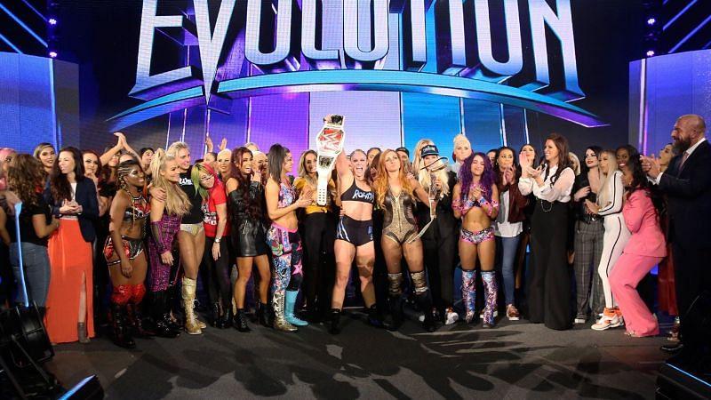 The female Superstars of WWE