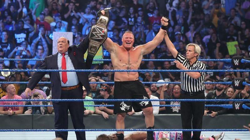ब्रॉक लैसनर बने WWE चैंपियन