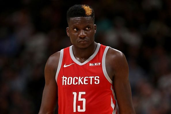 Clint Capela is among the centers being linked with a move to the Boston Celtics