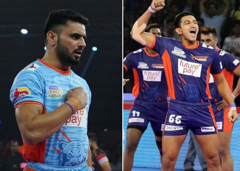 Baldev Singh (right) and Rinku Narwal (left)