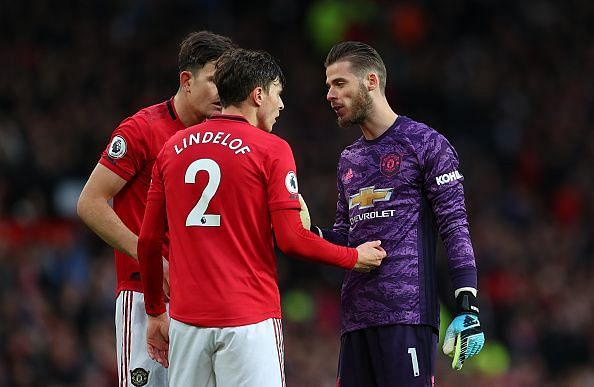 Manchester United only had 32.1% possession today