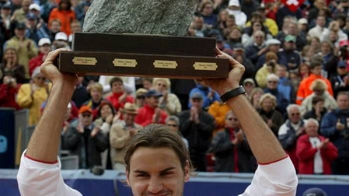 Federer at 2004 Gstaad