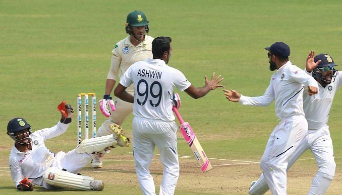 अपील के दौरान भारतीय टीम