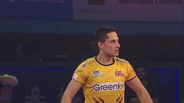 Farhad Milaghardan scored 78 points for the Telugu Titans in the previous edition of the Pro Kabaddi League