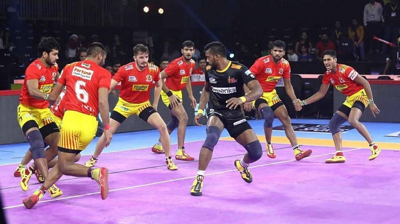 Can Gujarat finish their season on a positive note? (Image Courtesy: Pro Kabaddi)