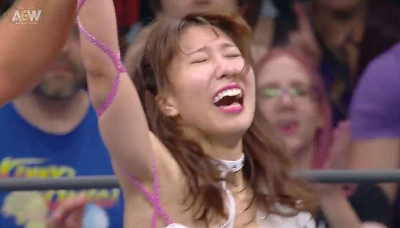 Riho is on top of the world at the moment