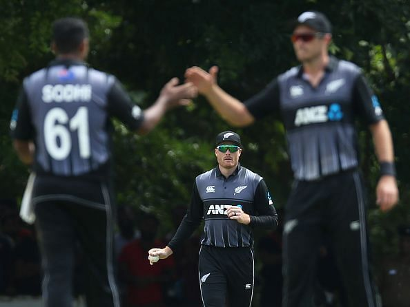 Sri Lanka Board President's XI v New Zealand - Tour Match
