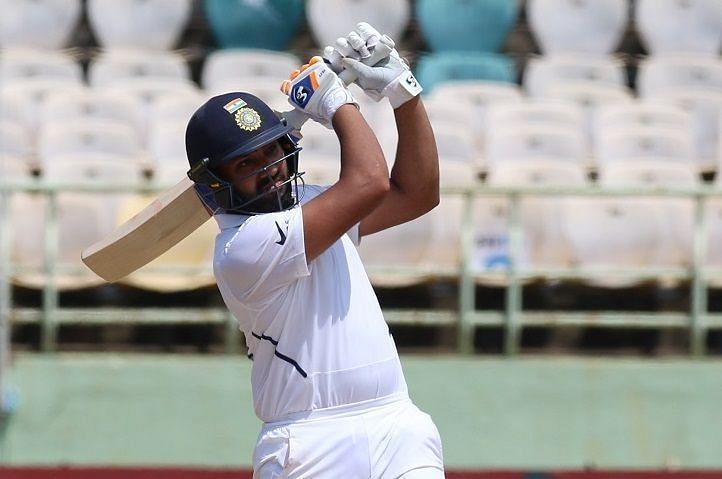 रोहित शर्मा ने एक टेस्ट में सबसे ज्यादा छक्कों का विश्व रिकॉर्ड बनाया (फोटो: BCCI)