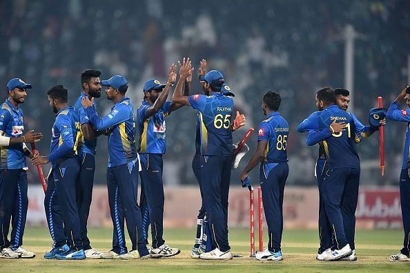श्रीलंका की पहले टी20 में एकतरफा जीत