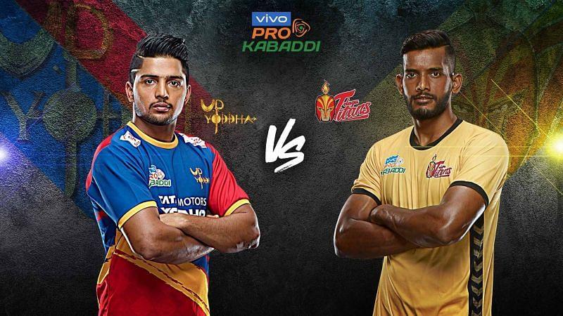 UP Yoddha look to remain unbeaten at their home leg against Telugu Titans.