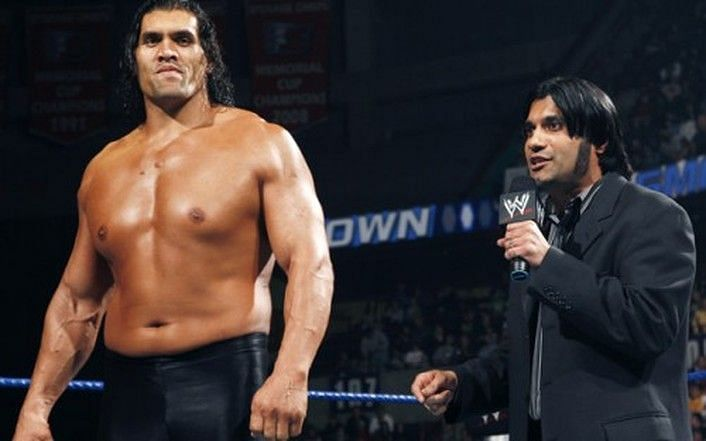 the great khali wwe
