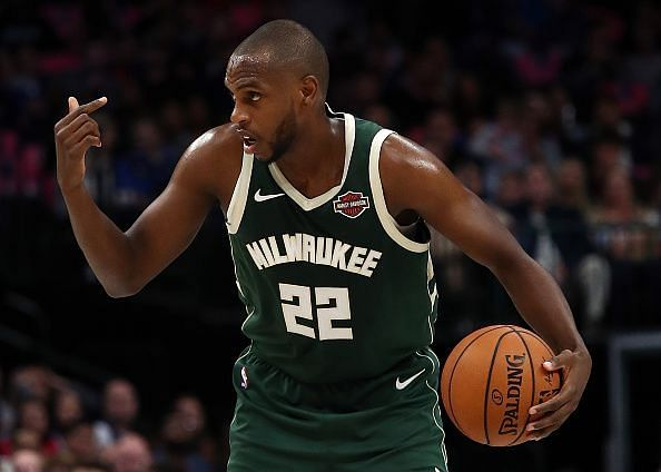 Khris Middleton is among the NBA stars that are currently out with injuries