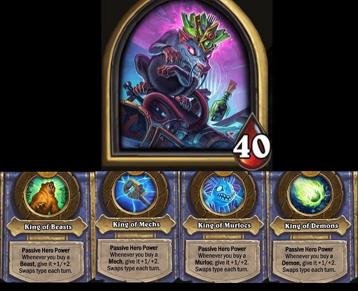 The Rat King - Hero Power rotates every turn