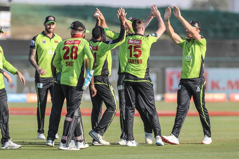Qalandars climbed to the top of the points table with this victory.