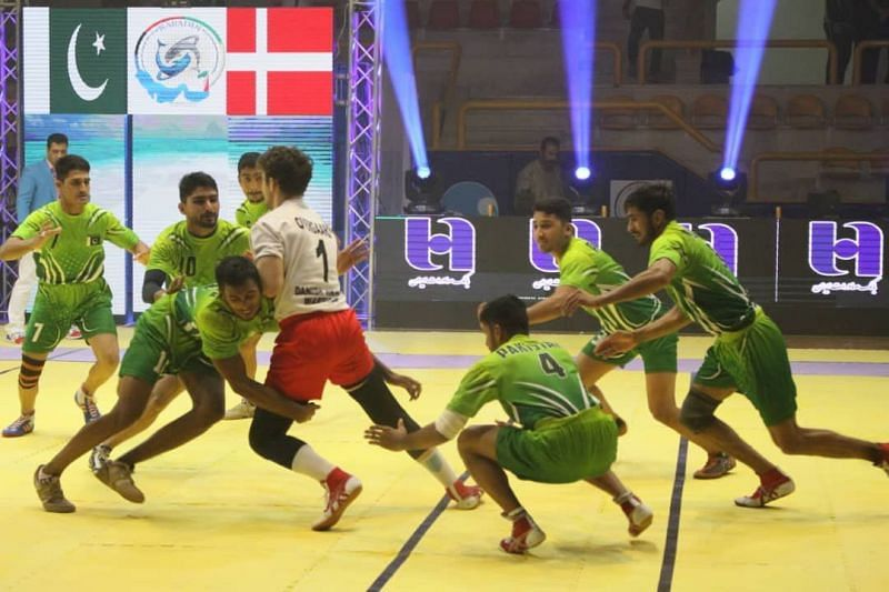Pakistan vs. Denmark (Match no. 5, Group B)