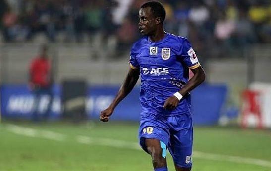 Modou Sougou struggled to get going. Image: ISL