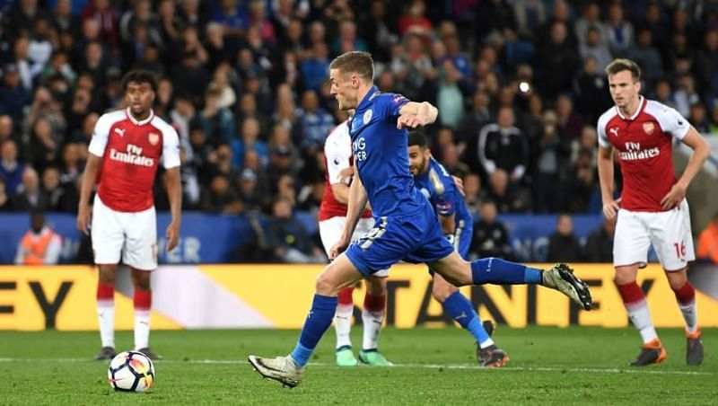Leicester City beat Arsenal 2-0 at home on the 9th of November