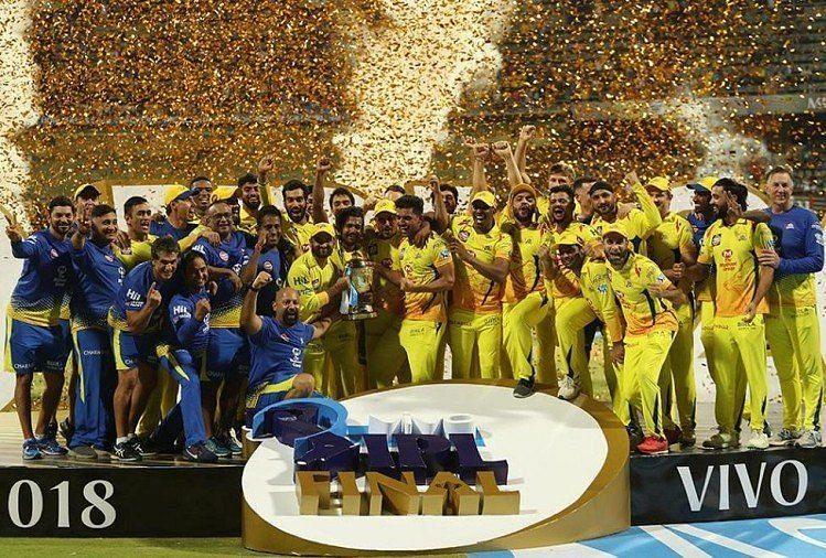 चेन्नई ने महेंद्र सिंह धोनी के नेतृत्व में 3 बार आईपीएल खिताब पर कब्जा जमाया है