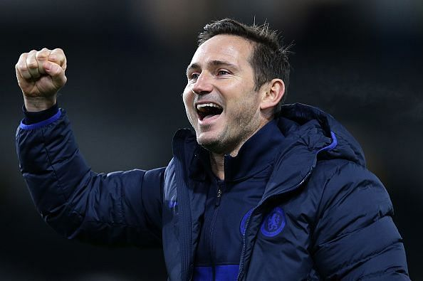 Frank Lampard has done a commendab job as Chelsea manager thus far