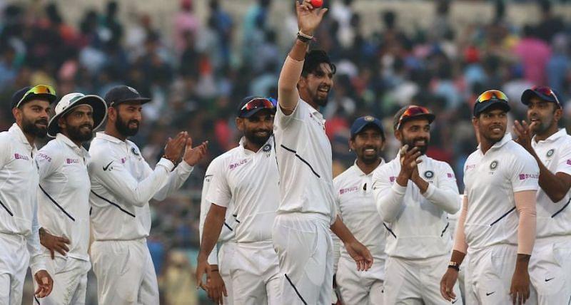 5 विकेट लेने के बाद इशांत शर्मा