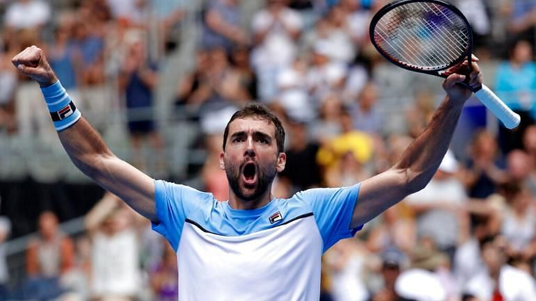 Cilic rejoices after his come-from-behind 3R win over Verdasco