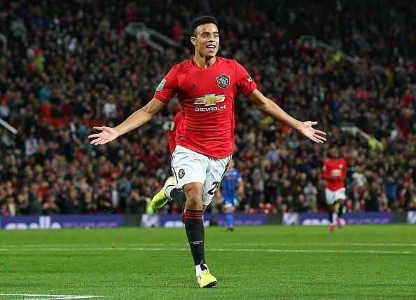 Greenwood has been tipped for a bright future at Old Trafford