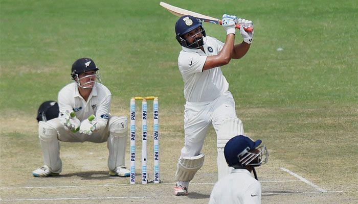 न्यूज़ीलैंड के खिलाफ टेस्ट सीरीज़ के दौरान भारत के रोहित शर्मा