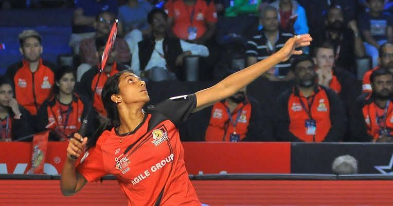 PV Sindhu was retained by the Hyderabad Hunters for the max price (77 Lakhs) in the PBL Season 5