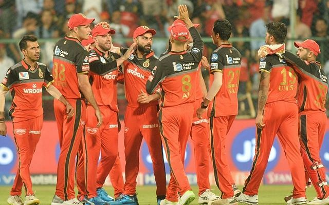 आईपीएल 2019 में विकेट लेने के बादआरसीबी की टीम