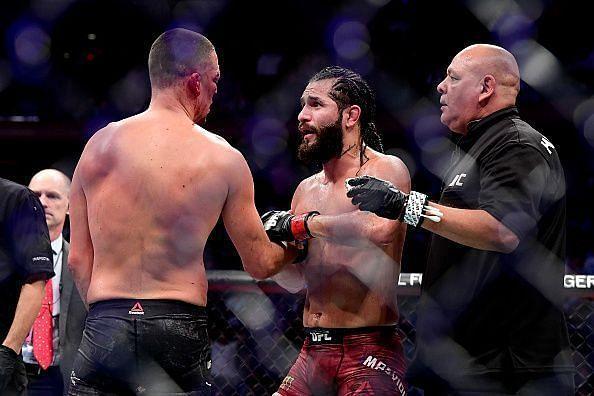 Jorge Masvidal vs Nick Diaz- UFC 244