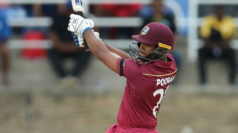 Nicholas Pooran was suspended for ball tampering
