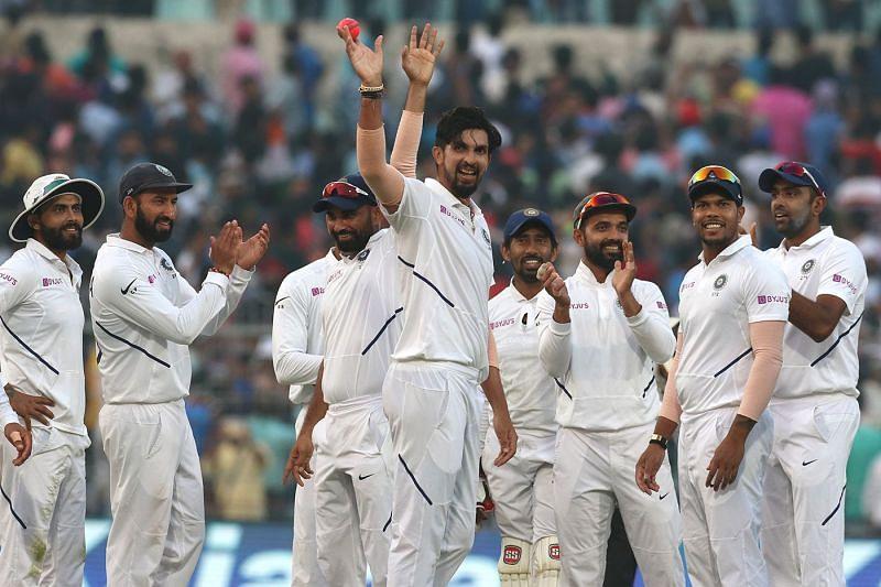 भारत ने लगातार सातवीं टेस्ट जीत दर्ज़ की (Photo: BCCI)