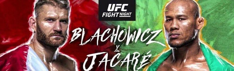 UFC Fight Night 164: Blachowicz vs Jacare