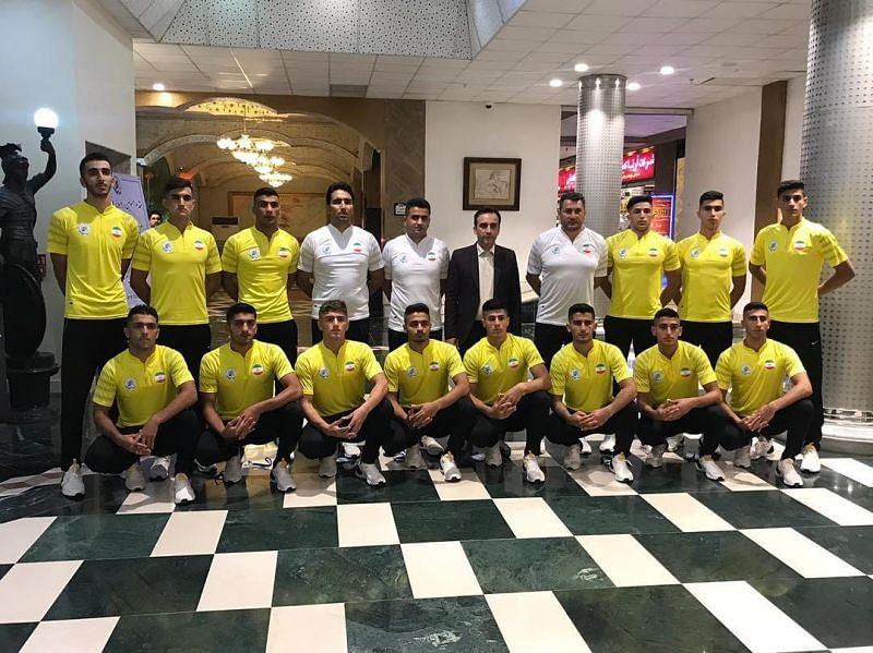 The Junior Kabaddi World Cup will begin today (PC: Iran Kabaddi Official Instagram account)