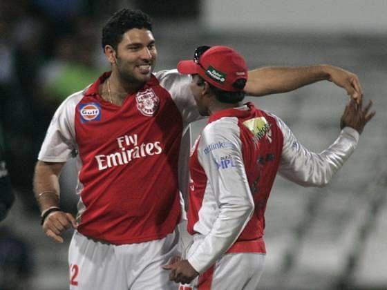 युवराज सिंह ने आईपीएल में दो बार हैट्रिक ली है