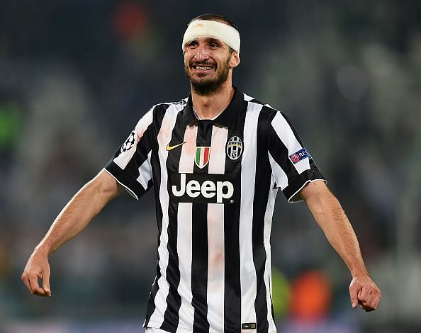 Giorgio Chiellini is one of Juve