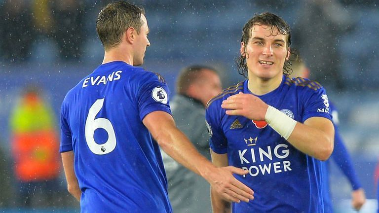 Johnny Evans and Caglar Soyuncu have forged a formidable partnership this season