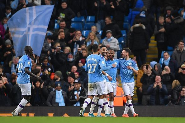 It was Manchester City