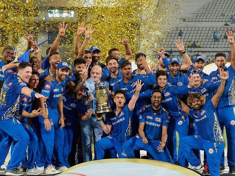 आईपीएल 2019 की विजेता टीम मुंबई इंडियंस