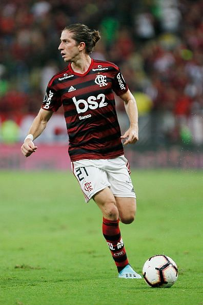 Luis now plies his trade at Flamengo.
