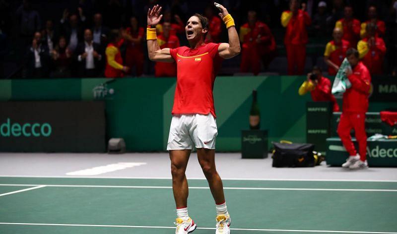 Spanish star Rafael Nadal