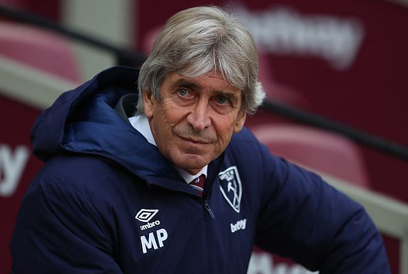 West Ham boss Manuel Pellegrini is under pressure right now