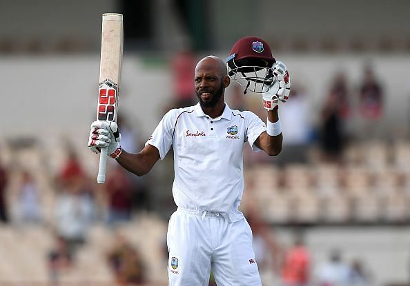 Roston Chase will look to score his sixth Test hundred