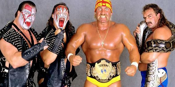 The Hulkamaniacs team from 1989. Where does this power team rank on our all-time greatest list?