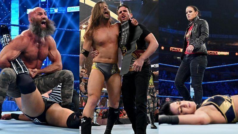 NXT ने बोला स्मैकडाउन पर हमला