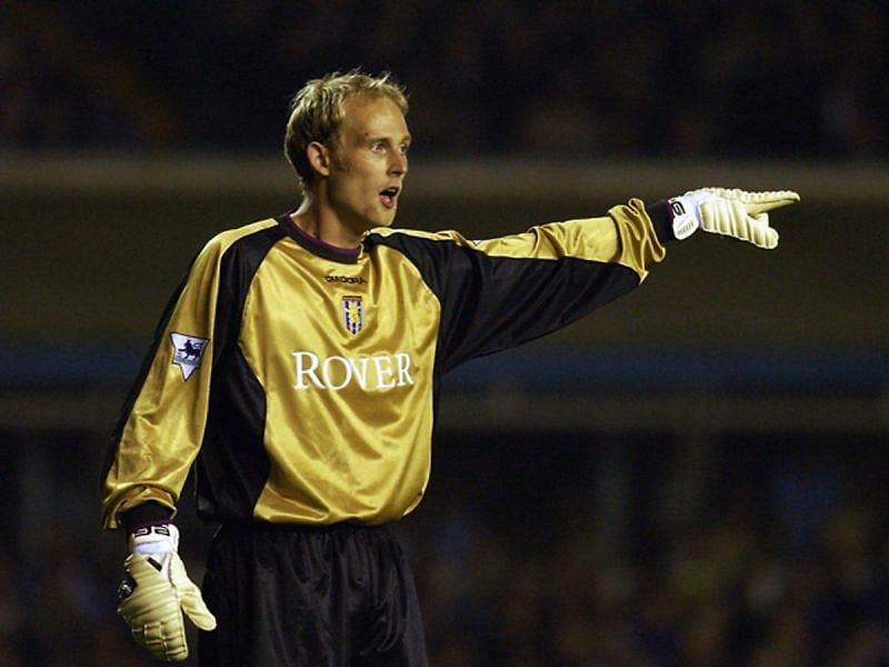 Peter Enckelman became infamous at Aston Villa after his mistake in a game against Birmingham City