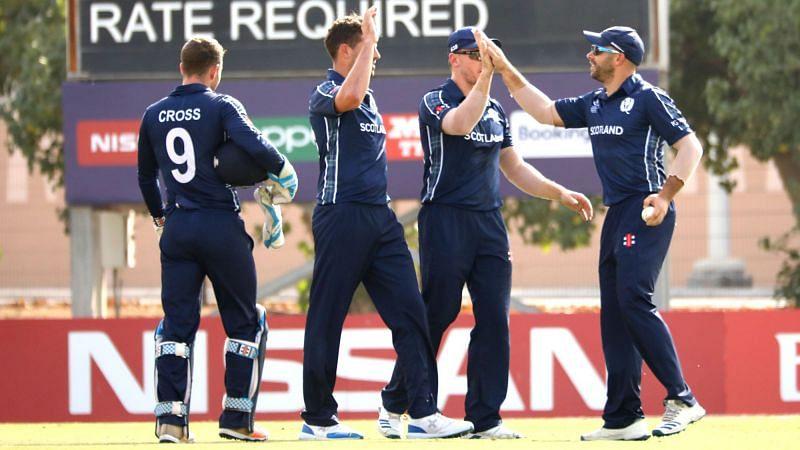 स्कॉटलैंड की टीम पांचवें स्थान पर रही