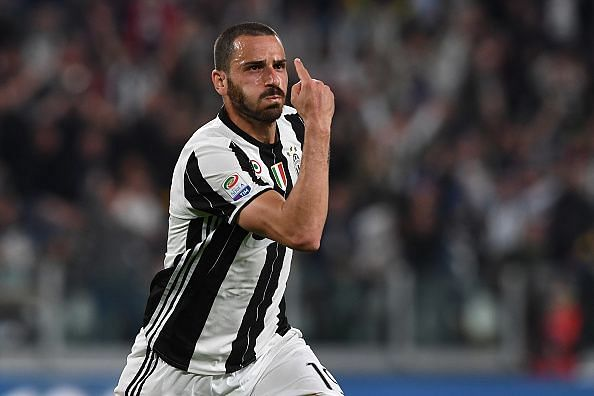 Leonardo Bonucci was named Serie A Footballer of the Year in 2015/16